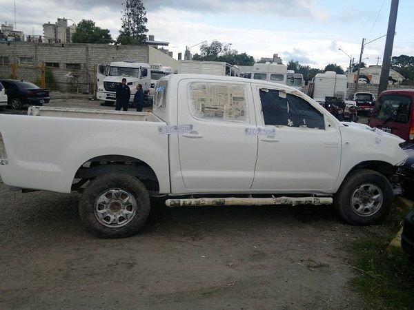 Toyota secuestrada